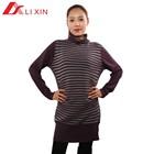 Fashion wool mature ladies sweater dress