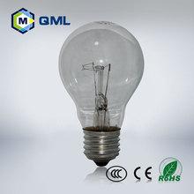 FOB price CE ROHS incandescent bulb 60w e27 220v