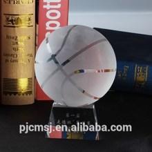 gift or souvenir crystal basketball award