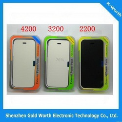 Popular Crazy Selling backup battery case pack for iphone 5