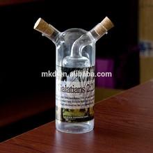 MEIKEDA 250ML Vinegar & Oil sublimation glass bottle with Lantern shape