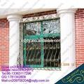 De metal de hierro marcos de ventana de/ventana de hierro barandilla de diseño de la parrilla/ornametal ventanas de hierro forjado de diseño