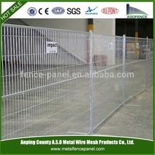 Canada construction Temporary fencing panel( Canada Standard)