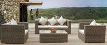 patio furniture outdoor rattan antique sofa set