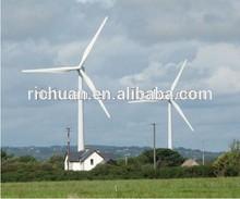 100kw aixs horizontal do vento turbina de célula combustível do hidrogênio gerador gerador pmg baixa rpm baixo noisewind turbina- gerador