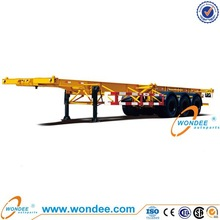 WONDEE 3 Axle 4T Container Chassis Trailer for Sale