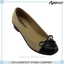 High quality women casual flat shoe factory china