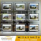 Real Estate Window LED Light Pockets Display