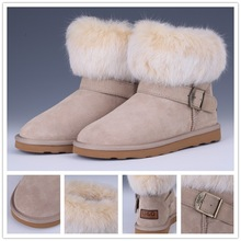 2014&2015 lastest design new model half snow boots girl and animals sex