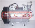 506012-1120/506012-1911/506211-8940 zexel dks-17d coche compresor de aire acondicionado con pv7 de partes de automóviles
