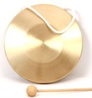 Hot sale traditional Chinese copper gong, musical percussion instrument