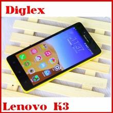 New ! Original 5Inch Lenovo K3 Lemon Mobile Phone 1GB+16GB MSM8916 Quad Core 2300MAH Dual sim Dual camera 4g Cell Phone In Stock