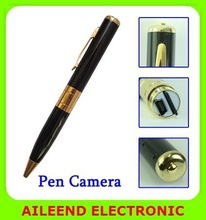 TF Card Slot Pen Camera , 1280*960 Pixels Mini Hidden Camera Pen
