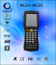 WLD3 Android /windows data collector PDA with barcode reader , 3G, WiFi
