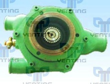 gear type water pump for concrete pump