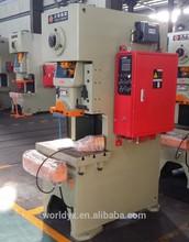 JH21 chinese new brand ce approved Hydraulic c type single crank power press machine