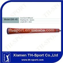 Orange Rubber Golf Iron OEM Swing Grip