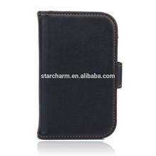 Shockproof flip leather case cover for Blackberry Q5