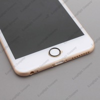 For iPhone 6 Touch-ID Home Button Metal Protective Ring Guard Circle Cover,Cell phone home button protector cover