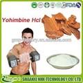 100% puro cloridrato de ioimbina/yohimbe bark extract