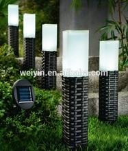 Solar rattan sticks light/ solar rattan garden light/ rattan solar light WY905-1S
