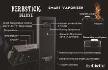 2015 metal Allumium Alloy LED indicator LCD screen exactly temperature control vaporizer pen herbstick deluxe