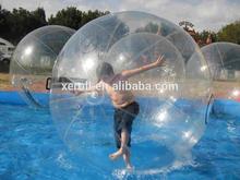 Super quality Germany Tizip human water ball,giant water walking ball,human hamster ball in pool