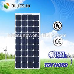 High quality hot sale 12v 80W polycrystalline solar panel