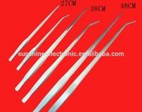 Cool Now 38cm aquarium Professional plants straight head tweezers stainless steel tweezers