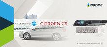 Iokone Car DVD Player with GPS Bluetooth For Citroen C5