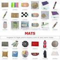 かぎ針編みの花のクッション: 中国からの調達ワンストップ: 義烏市場のためのマット・クッション