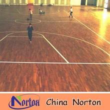 Anti-Slip basketball court wood flooring NTF-PW015