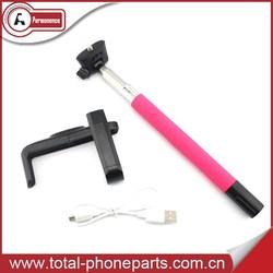 Selfie Bluetooth Monopod , Bluetooth Wireless Mobile Phone Monopod