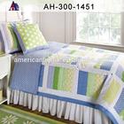 Printed Soft White Goose Down Quilt Comforter Duvet