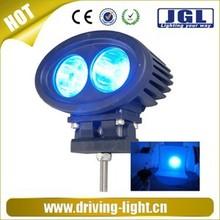 High-performance Red/blue auto LED work lights blue light 6w