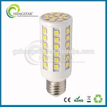 High lumen led cor light e26/e27 5w/7w plastic housing energy saving long life ce rohs ra80,high lumen corn light e26/e27 5w/7w