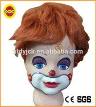 high quality red short hair wig boy doll wigs