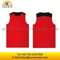 Personalizado de alta calidad uniforme del baloncesto, sublimación de baloncesto jersey/superior baratos para