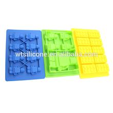 Silicona Lego moldes para la fabricación de velas, Caramelo, Jabones y cubos de hielo