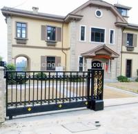 Luxury villa sliding gate (factory price) BS EN DIN standard