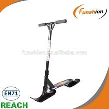 funshion stunt snowscoot/ski kick snow scooter/pro extreme ski scooter bike