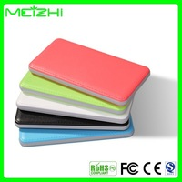 2014 Newest ultra slim&thin battery pack portable power bank/ backup power source/Charging external power packs