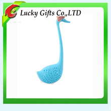 Swan shape silicone tea strainer,silicone tea filter hot new products