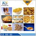 Automático de flocos de milho/cereais de pequeno-almoço máquina/extrusora/linha de processamento
