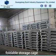 Stacking Steel Storage Mesh Pallet Box Cage