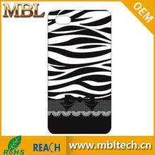 Black and White Zebra Stripes Design Shield Case For iphone 5 5s
