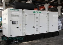 500kW super silent Electricity Generation with Perkins Engine