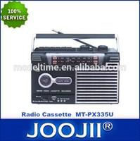 Portable Radio Cassette with earphone jack