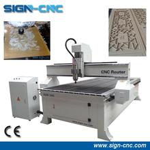 SIGN 1325 T-slot table 3d cnc wood carving machine/woodworking cnc router/machine cnc router wood