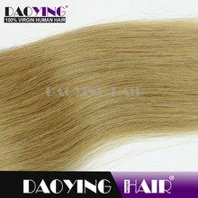 european blonde hair Strawberry Blonde(#27)U TIP hair, the black magic comb hair dye
